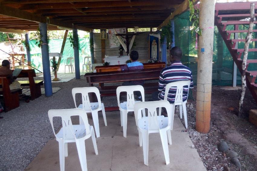 Kaplica w Bogi, PNG